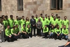 Recepció SpainSkills 2017