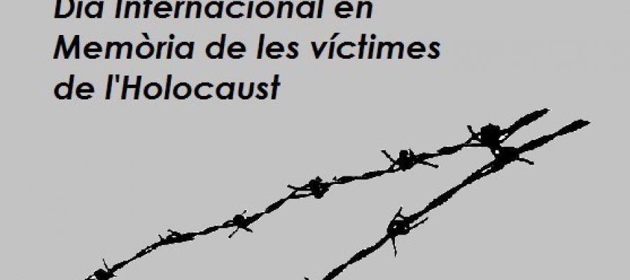 Guindàvols a l'Acte institucional de Commemoració de les Víctimes de l'Holocaust al Parlament de Catalunya