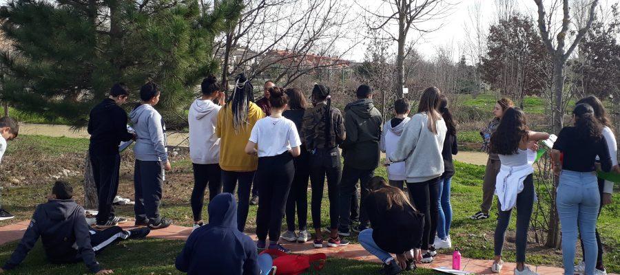 """L'alumnat de 2n d'ESO realitza el taller """"Plantes i matemàtiques"""" a l'Arboretum"""