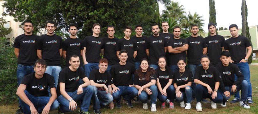 L'equip guanyador del campionat d'FP de Catalunya es prepara per la competició estatal