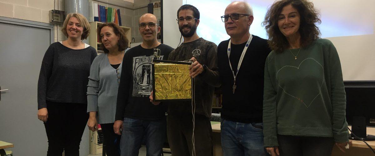 """ERASMUS+ """"Com es pot enviar un Globus Sonda a l'estratosfera?"""" a càrrec del Dr.Kike Herrero"""