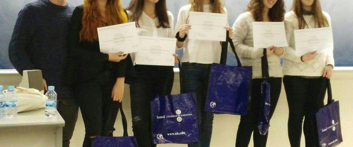 La Clara Preixens finalista del 5è Premi Xavier Domingo de química