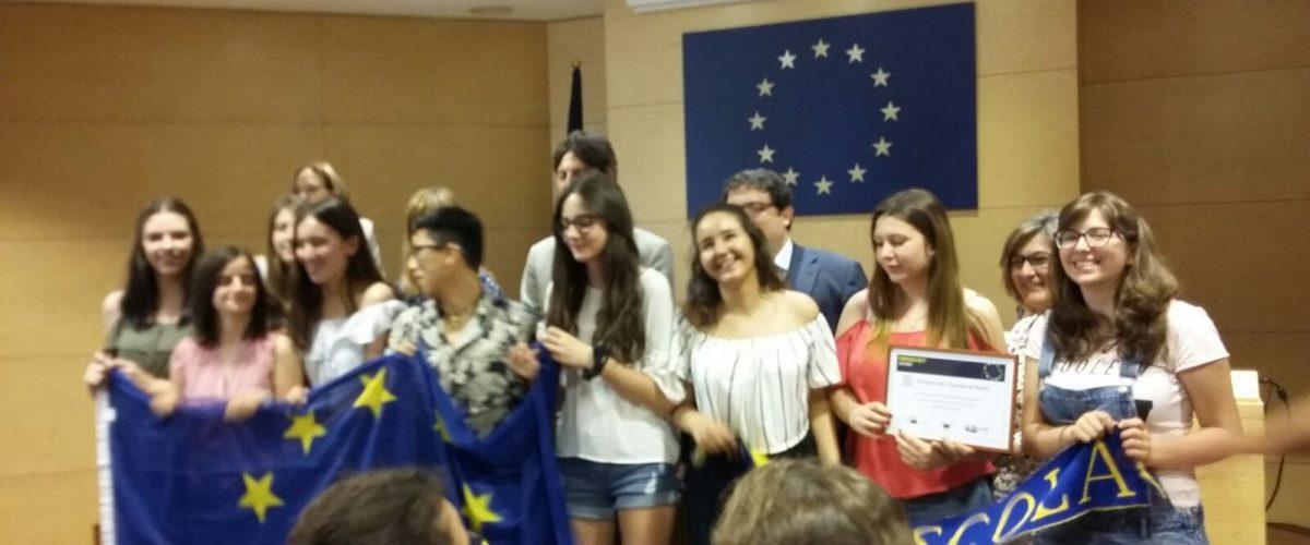 Lliurament de premis del Concurs Euroscola: 2n classificats