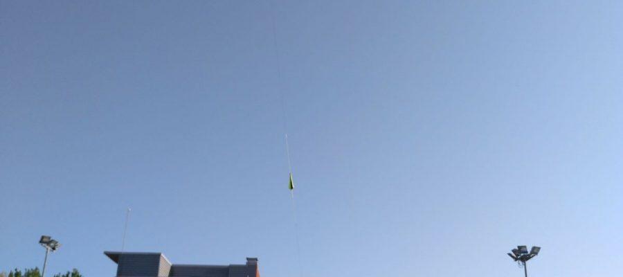 Envolament d'una sonda a l'estratosfera
