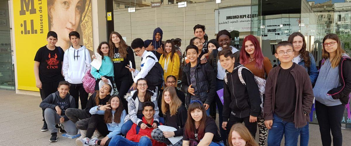 Alumnat de 3r d'ESO descobreix la Lleida del Barroc