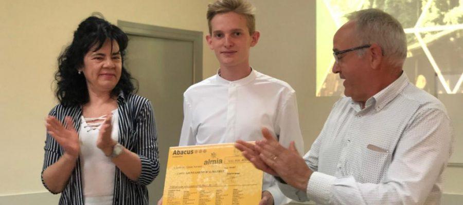 Premi Almia Educativa a Quim Navarro