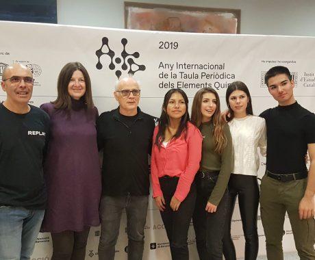 L'INS Guindàvols a l'acte de cloenda de l' Any Internacional de la Taula Periòdica