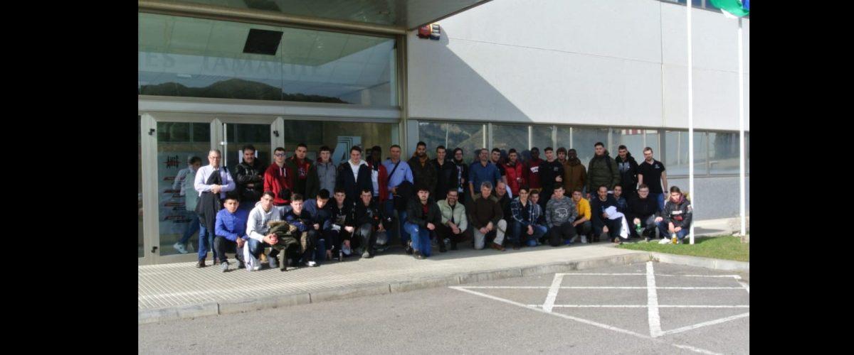 L'alumnat de Mecanització i Manteniment electromecànic visiten Ames de Tamarite