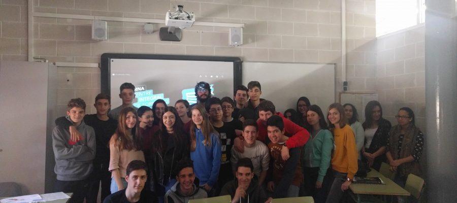 L'alumnat de 3r d'ESO elabora un videojoc sobre alimentació