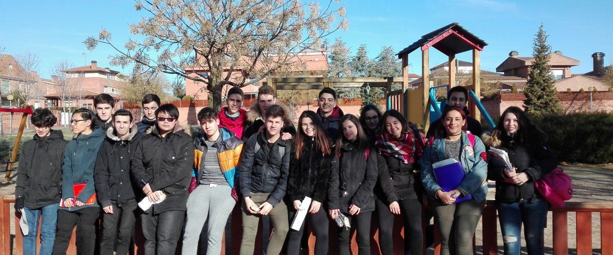 Alumnat de 2n de Batxillerat fan la descoberta de la Partida Guindàvols