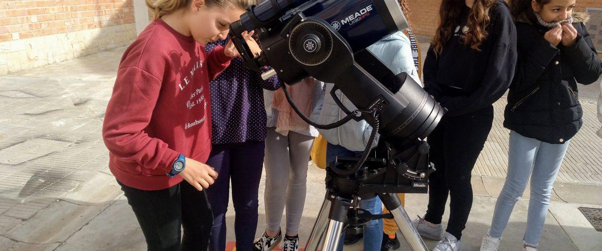 Setmana de la Ciència: gaudint de la curiositat d'observar el trànsit de Mercuri des del Guindàvols