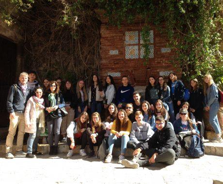 L'alumnat d'intercanvi visita Tàrraco