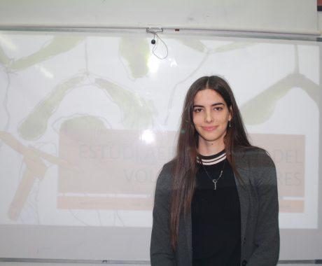 L' Ester Gil de l'INS Guindàvols, obté el  Premi al millor treball de recerca de batxillerat de la UPC