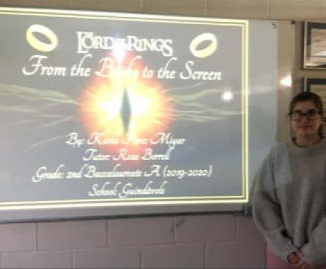 PREMI TREBALL DE RECERCA.                                The Lord of the Rings:from the Books to the Screen