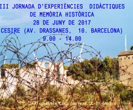 Guindàvols participa a la III Jornada d'Experiències Didàctiques de Memòria Històrica