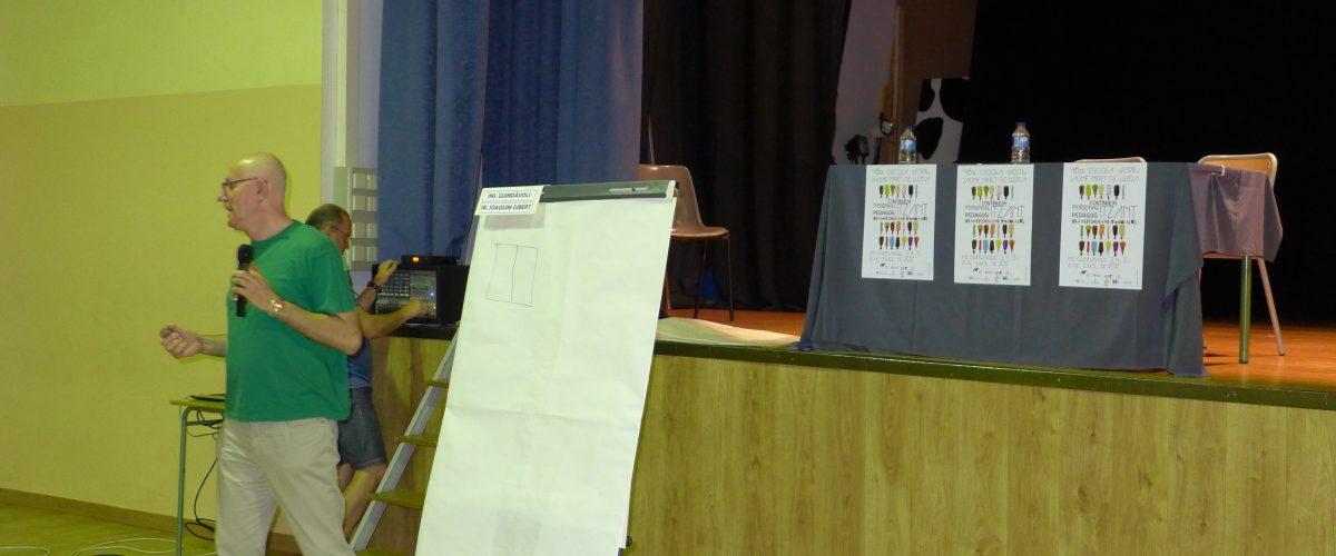 Presentació d'experiències educatives a l'Escola d'Estiu: Contes Guiats