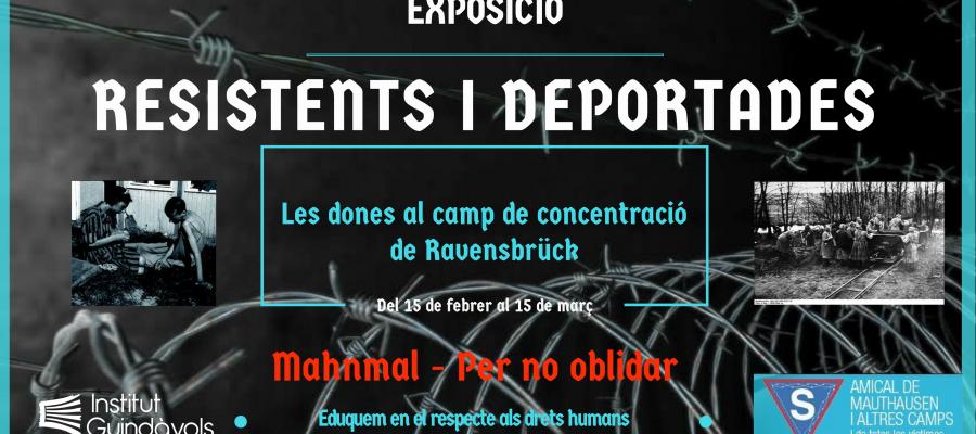 """L'Exposició """"Resistents i deportades"""" arriba a l'INS Guindàvols"""