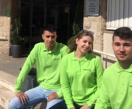 3 alumnes del Guindàvols camí de la competició nacional d'FP SpainSkills