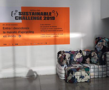Participem al Sustainable Challenge 2019 de Upcycling