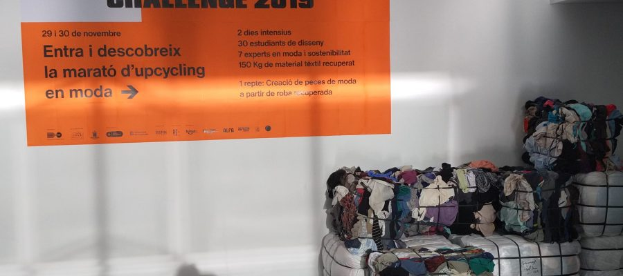 Participem al Sustainable Challenge 2019 de Upcycling