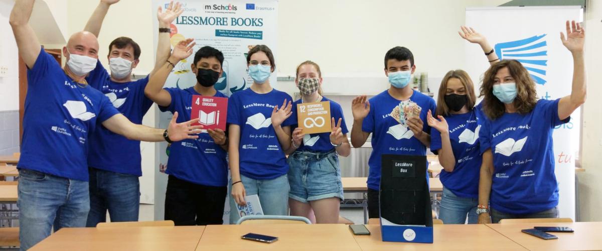 Lessmore Books premiat a l'mSchools