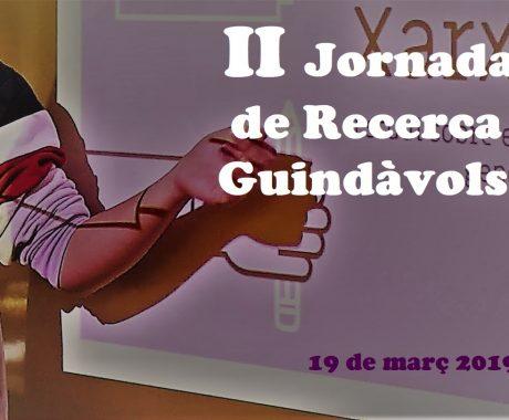 II JORNADA INTERNA DE RECERCA GUINDÀVOLS