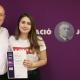 La Clàudia Pubill de 2n Batx guanya 1r premi TdR Humanitats Universitat Ramon Llull  i 1r premi de recerca històrica Fundació Josep Irla