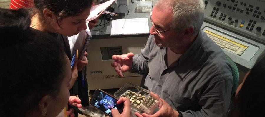 Microscòpia i transgènics en la Setmana de la Ciència