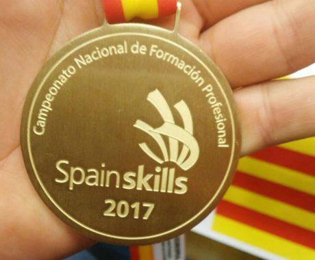 Gindàvols obté l'Or en fontaneria i calefacció a la competició nacional d'FP