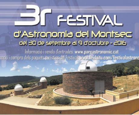 3r Festival d'astronomia  del Montsec