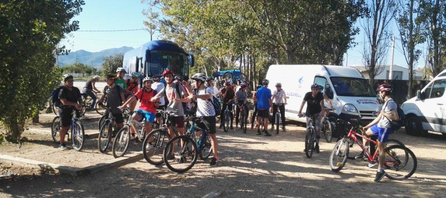 Sortida en bici pel Montsià