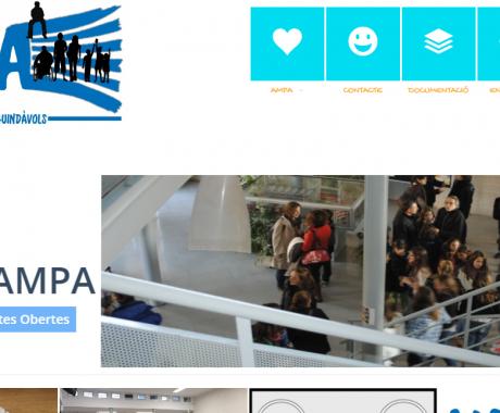 L'AMPA ofereix avantatges per als seus associats a la pàgina web